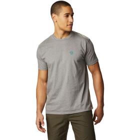 Mountain Hardwear Logo Camiseta Manga Corta Hombre, gris